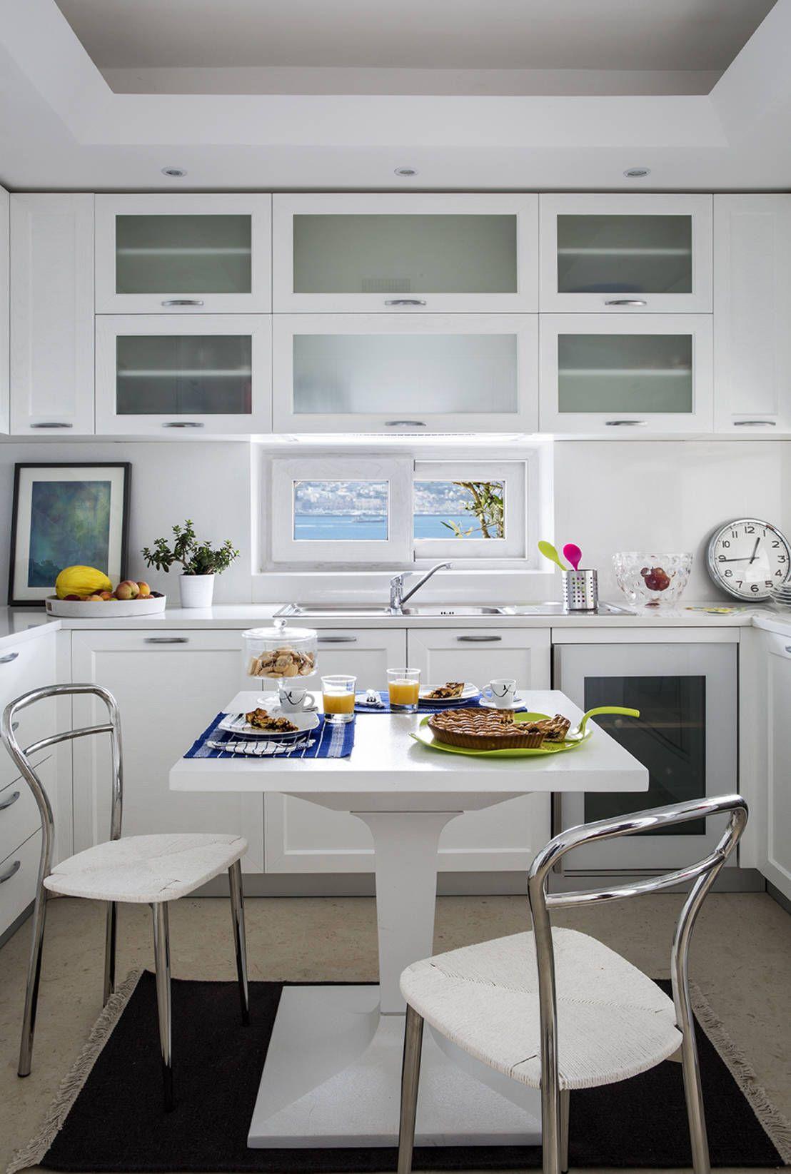 6 Brillanti Idee per Arredare una Cucina Stretta e Lunga   Pinterest