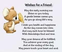Wishes For A Friend