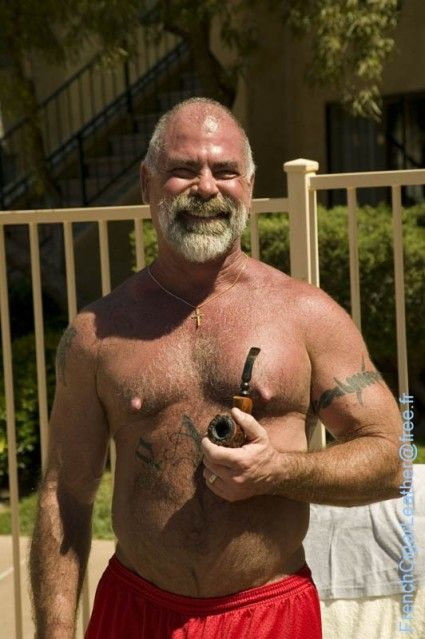 from Conor gay man pipe smoking