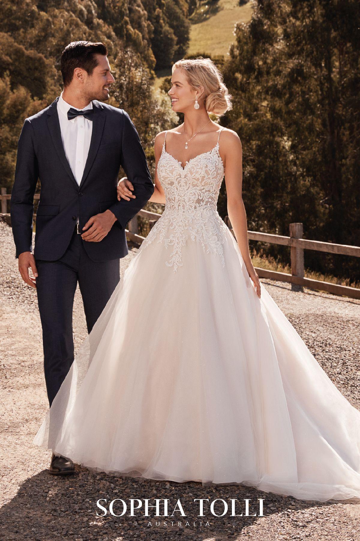 Jasmine Style Y22054a Sophia Tolli Sparkly Wedding Gowns Princess Wedding Gown Glitter Wedding Dress [ 1800 x 1200 Pixel ]