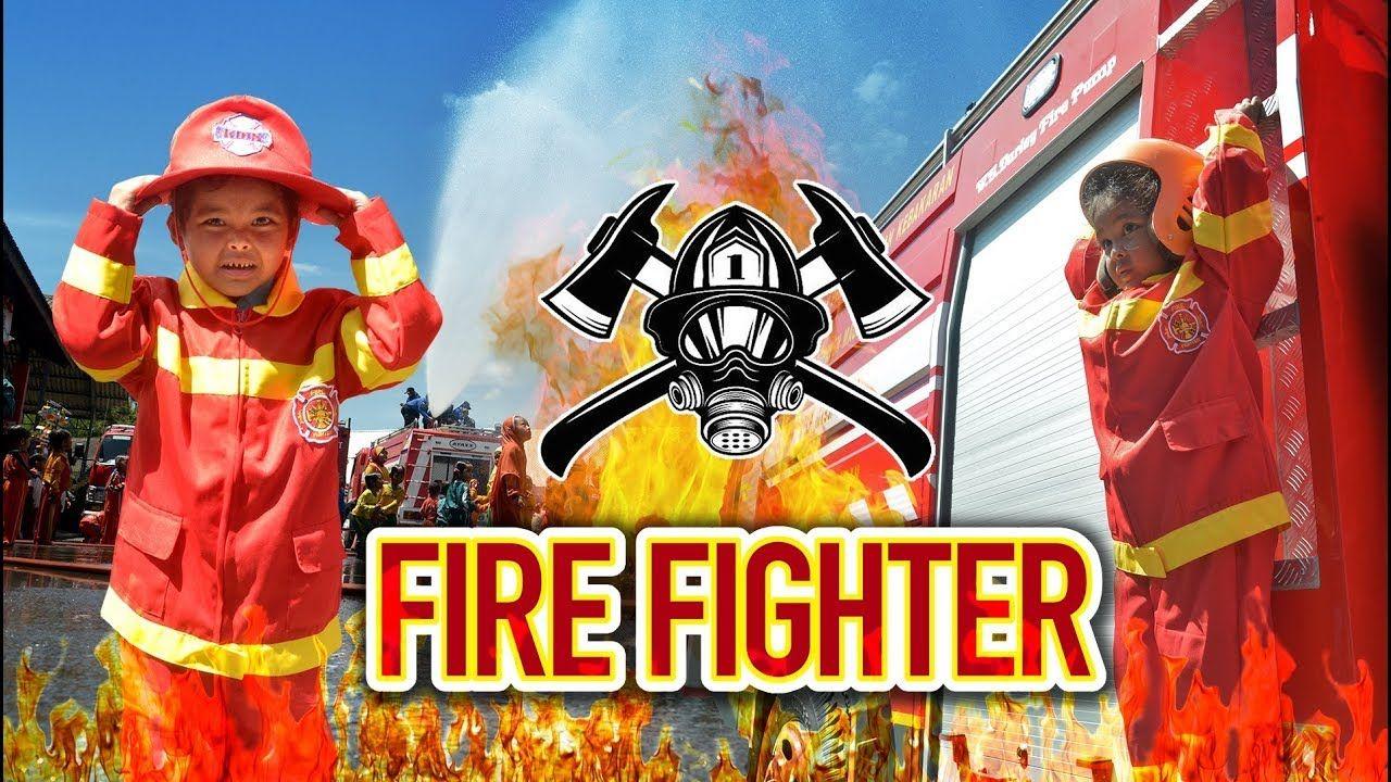 Sasha Jadi Fire Fighter Simulasi Damkar Pemadam Kebakaran Anak