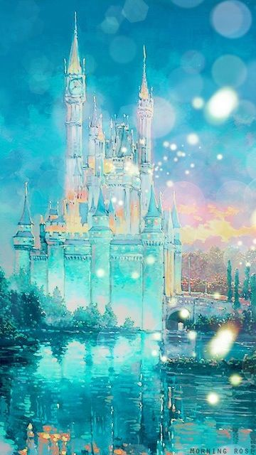 I Love This Wallpaper Of The Disney Castle Disney Background Wallpaper Iphone Disney Disney Wallpaper
