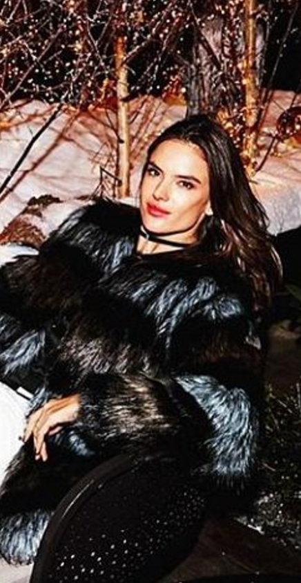 Alessandra Ambrosio wearing Ale By Alessandra