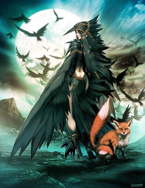 Crow and fox | Corvidae | Corbeau dessin, Corbeau et Artiste  Crow and fox | ...