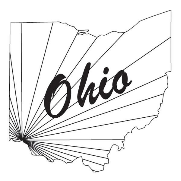 Ohio - Temporary Tattoo