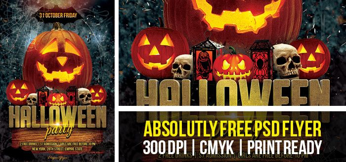 Free And Premium Halloween Flyer Templates In PSD From - Free halloween flyer templates