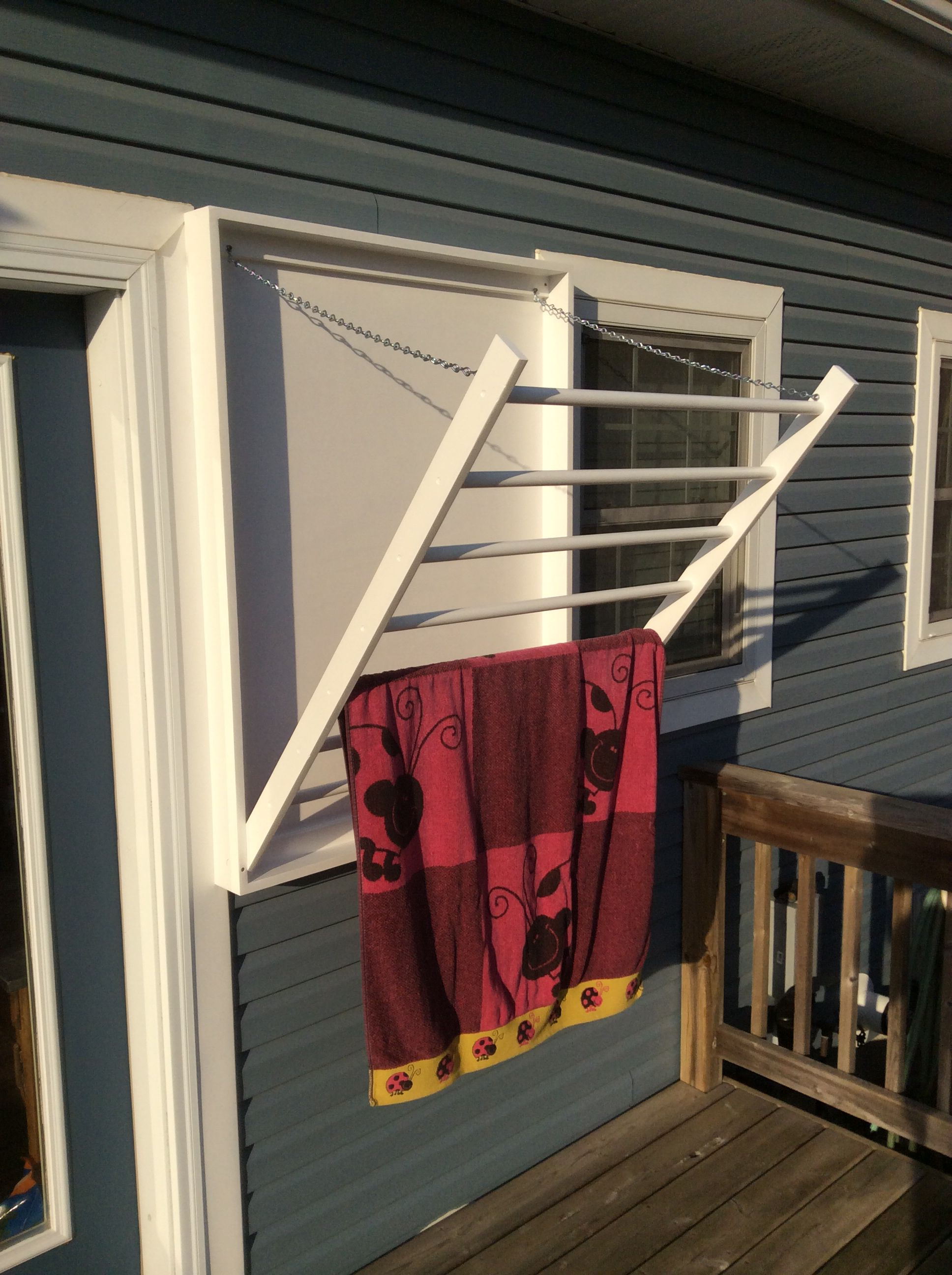 For The Laundry Room Towel Rack Outdoor Drying Rack For