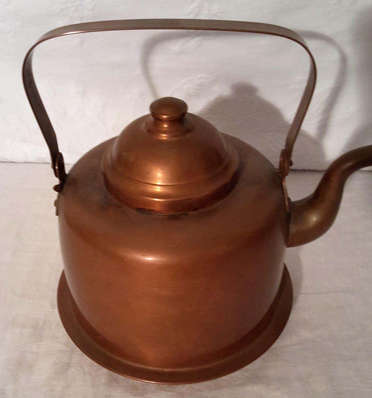 Copper Helsinki Peltiteos Teapot, Copper Tea Kettle,Coffee Pot ...
