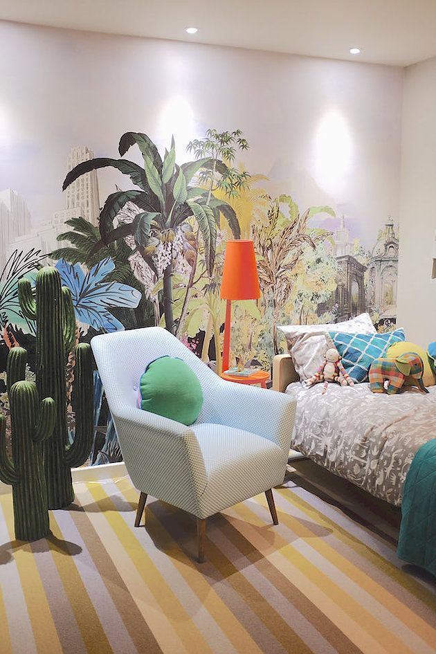 The ideal home show homes and garden pods kidsrooms wallmural wallpaper also rh pinterest