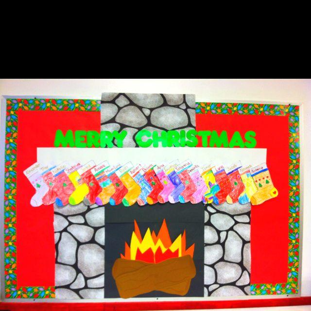 My Classroom Christmas Board