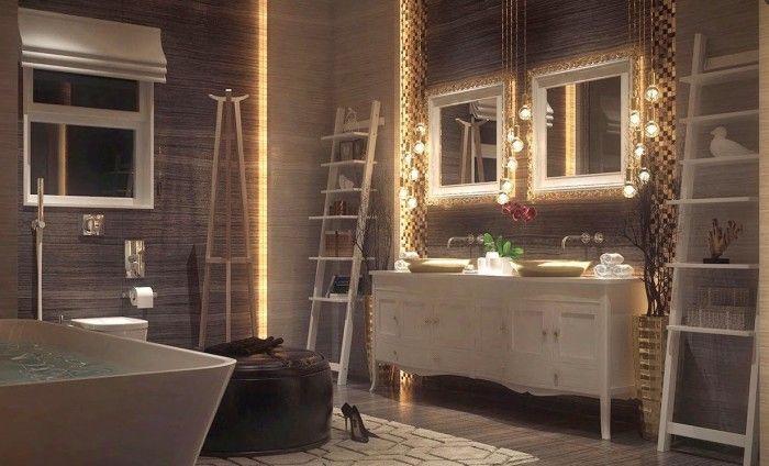 wall mounted bathroom lights | łAZIENKA---bATROOM | Pinterest ...