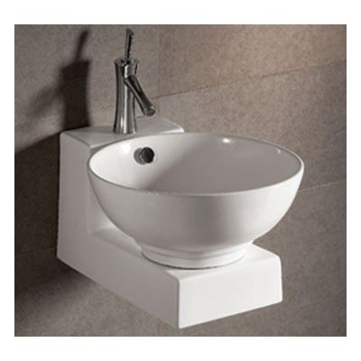 Whitehaus Isabella Collection Basin Sink with Overflow and Matching ...