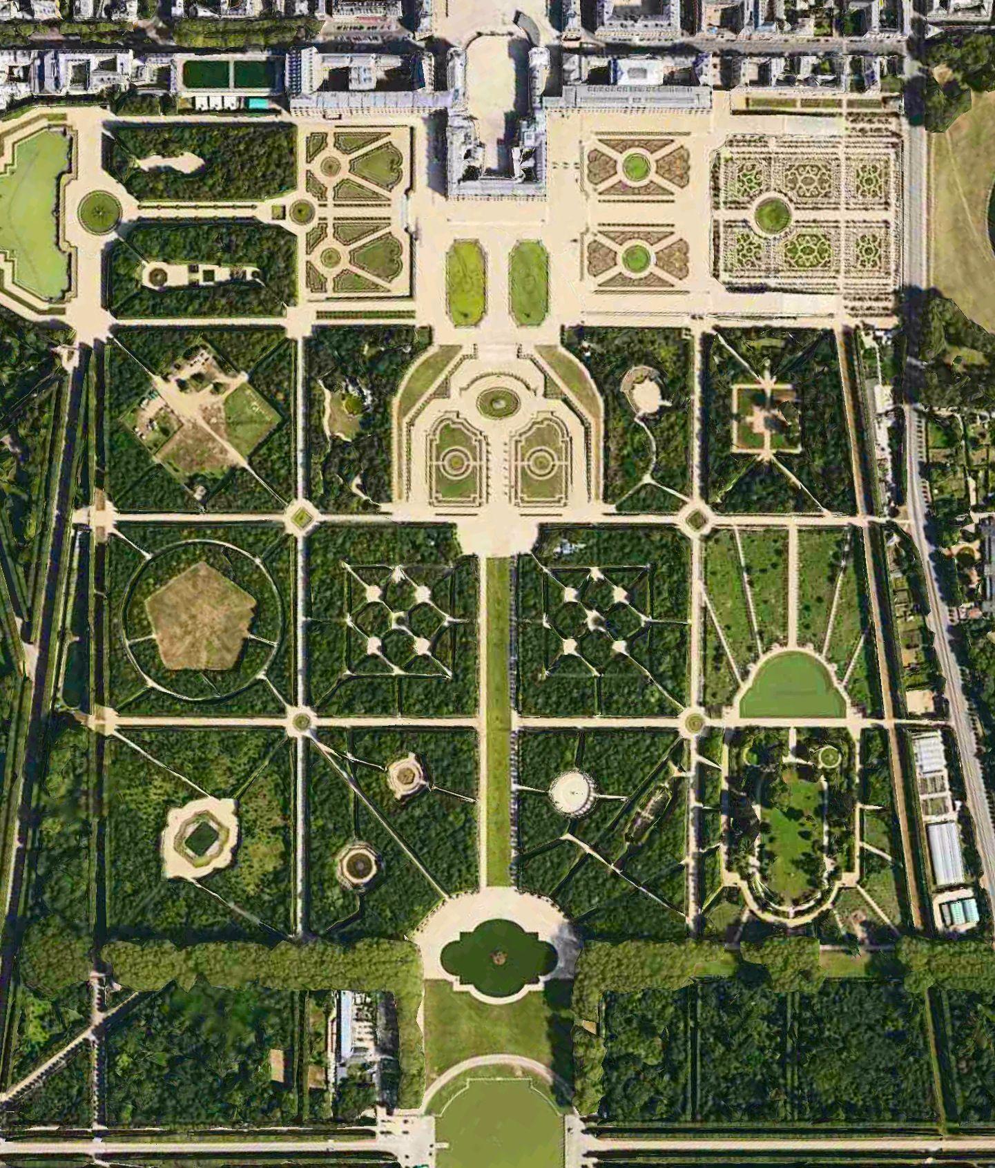 Versailles Landscape Design Drawings Garden History Modern Garden Landscaping