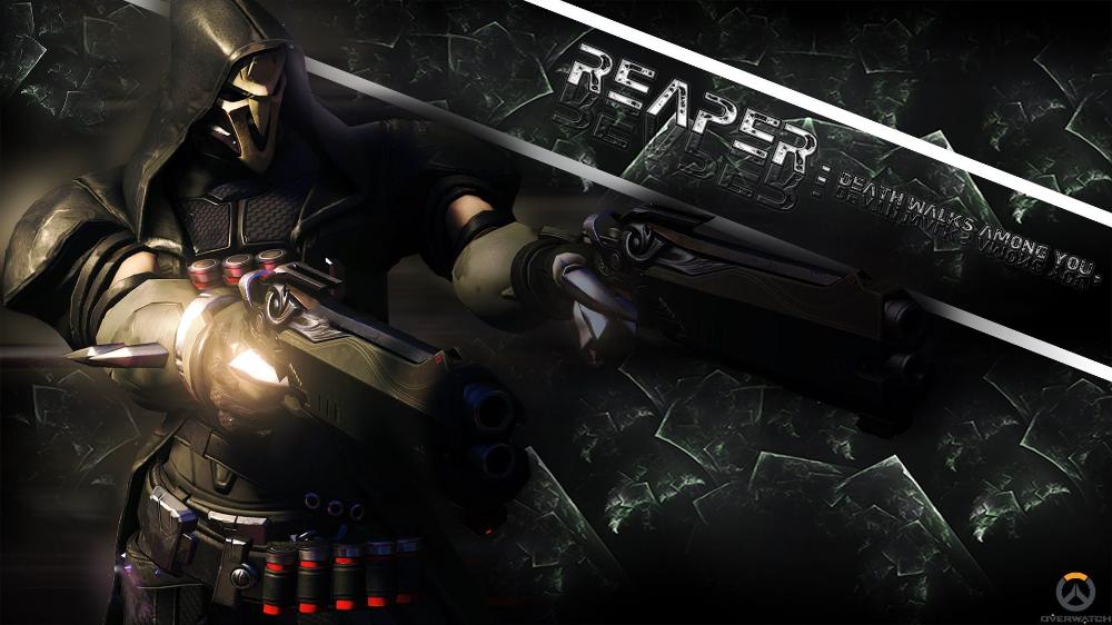 Reaper Desktop Overwatch Wallpapers Wallpaper Cave Overwatch Wallpapers Action Wallpaper Overwatch Reaper