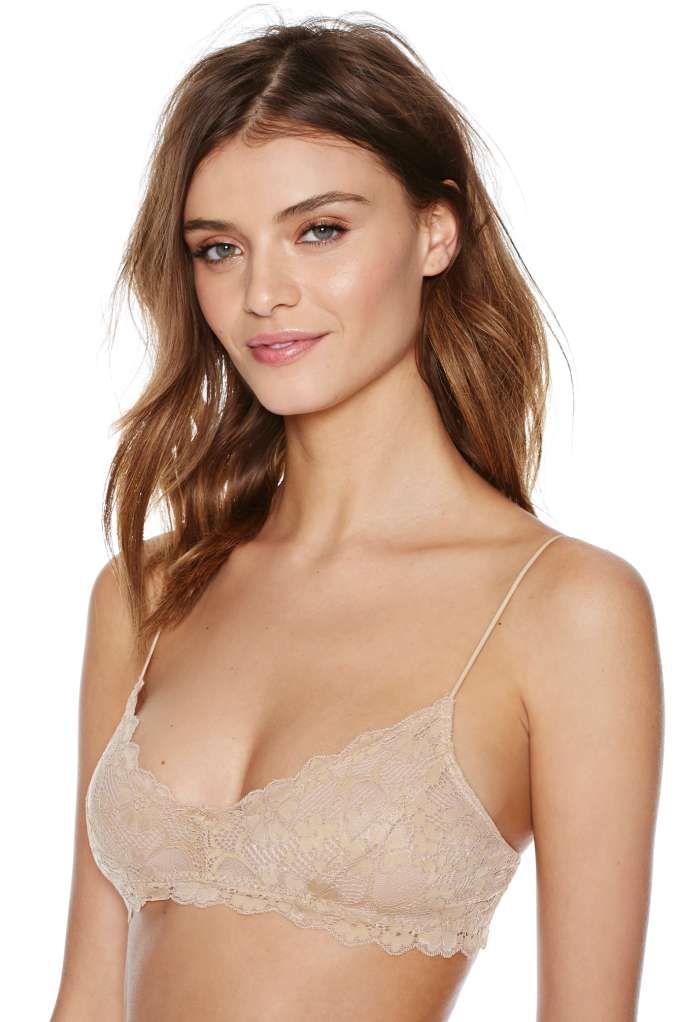 0f207cefd20 Camilla Lace Bralette - Nude - Bras + Bralettes
