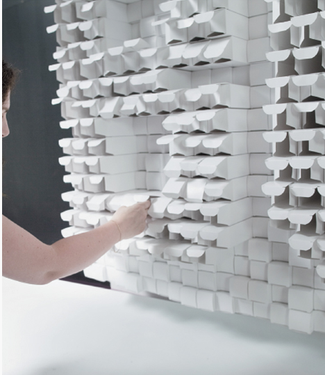 By sid lee interactive wall close up