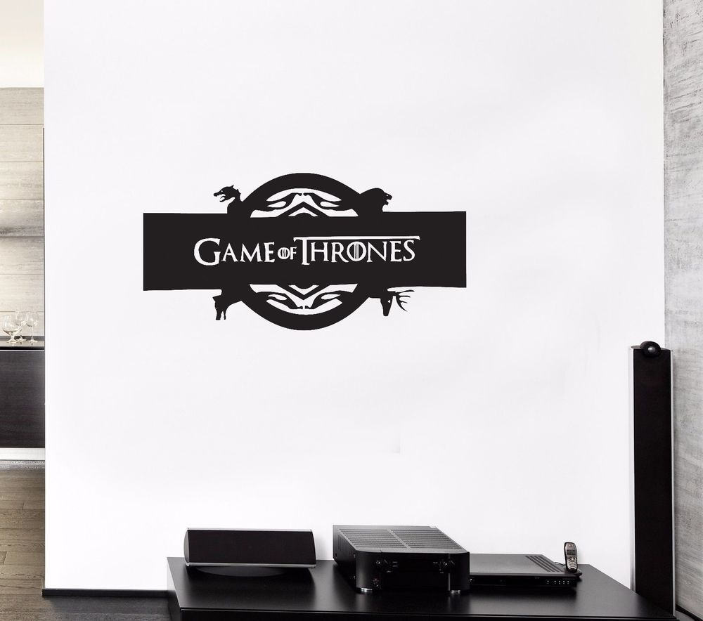 Game of Thrones Wall Art Sticker Decal Vinyl Transfer