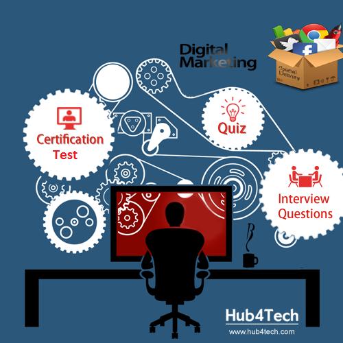 Digital Marketing Certification Test, Interview Questions and Quiz - http://www.hub4tech.com/digital-marketing