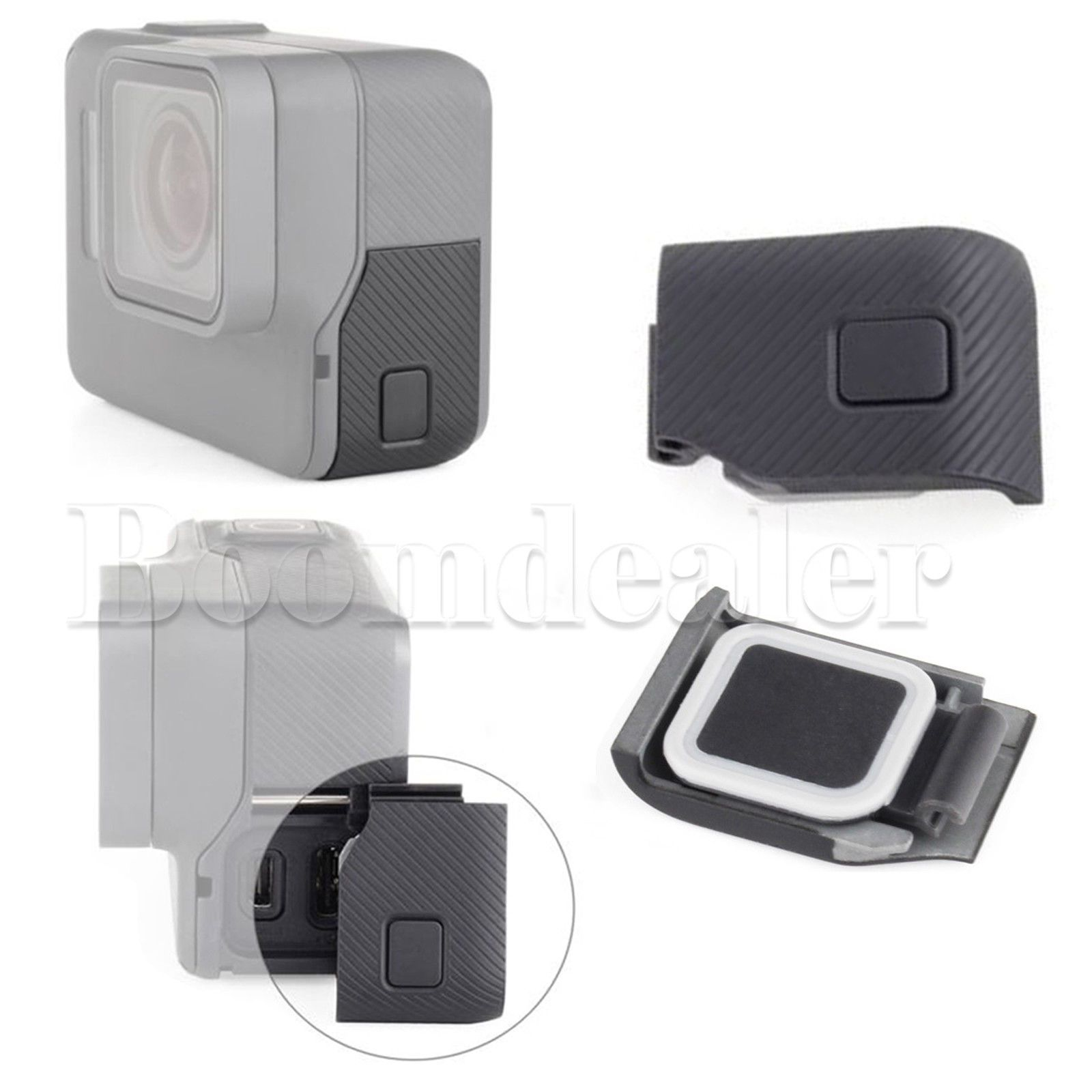 6 63 Gbp Replacement Side Door Usb C Hdmi Cover Case Cap Hat Repair Part For Gopro Hero 5 Ebay Electronics With Images Gopro Hero 5 Case Cover