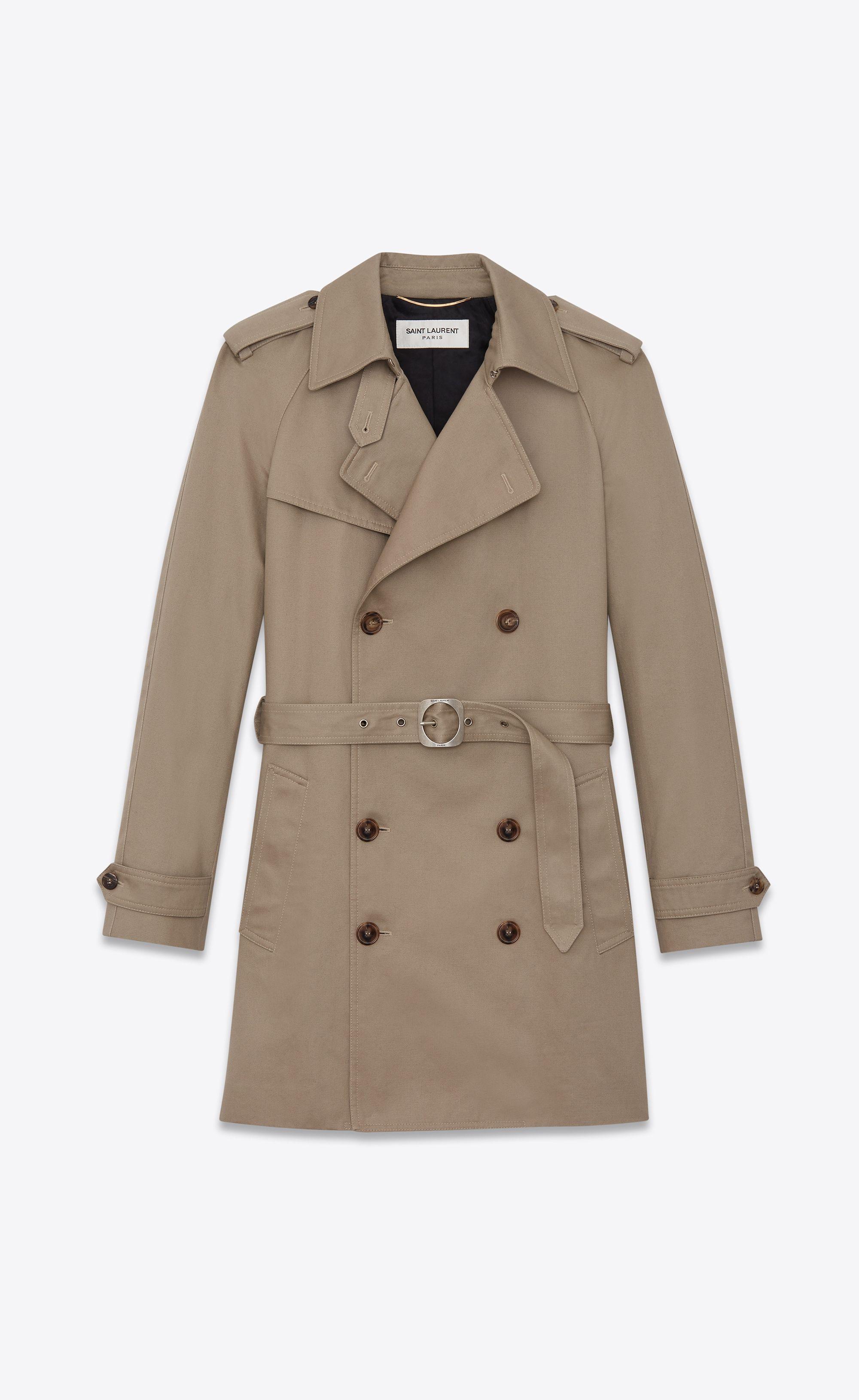24d5b83fa6 Western-style trench coat in safari gabardine   Fashion   Trench ...