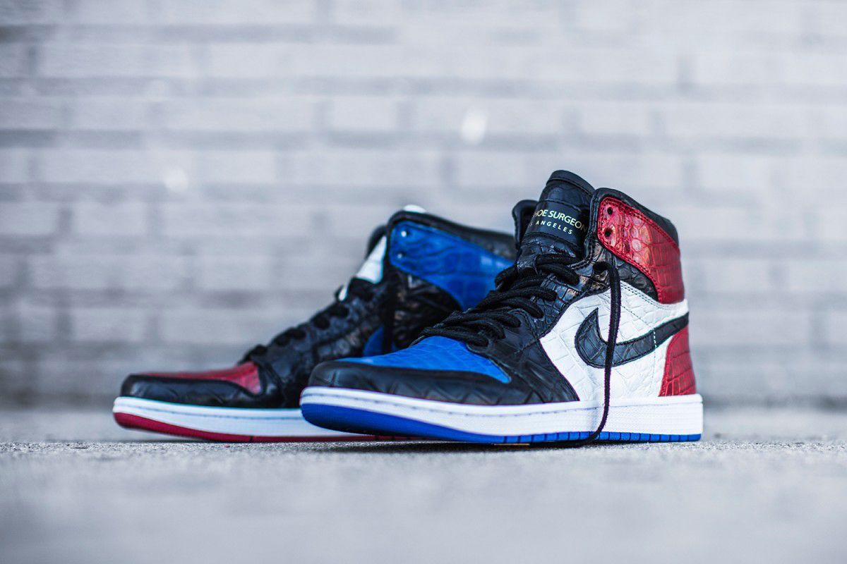 Nike Air Jordan 1 Retro High OG (Perforated) Mens Sneakers