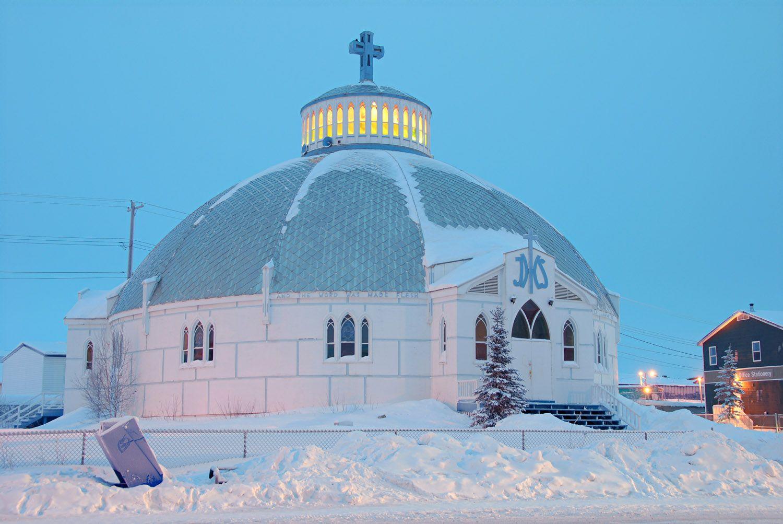 Inuvik Northwest Territories Canada - Igloo Church
