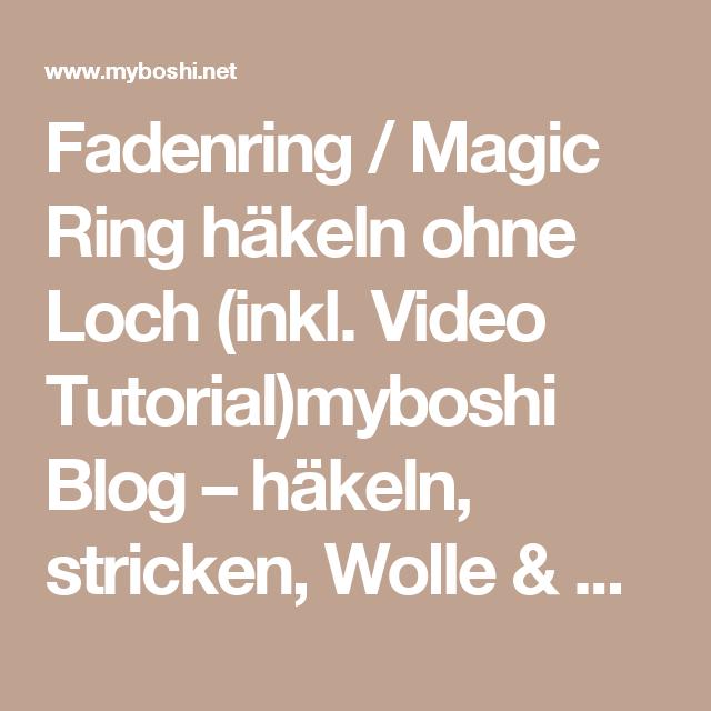 Magic Ring Stricken Desleutelbenjezelf Blog