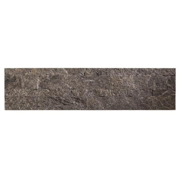 Accent Tile Thinner Than Wall Tile: Aspect 23.6 In. X 5.9 In. Frosted Quartz Peel And Stick
