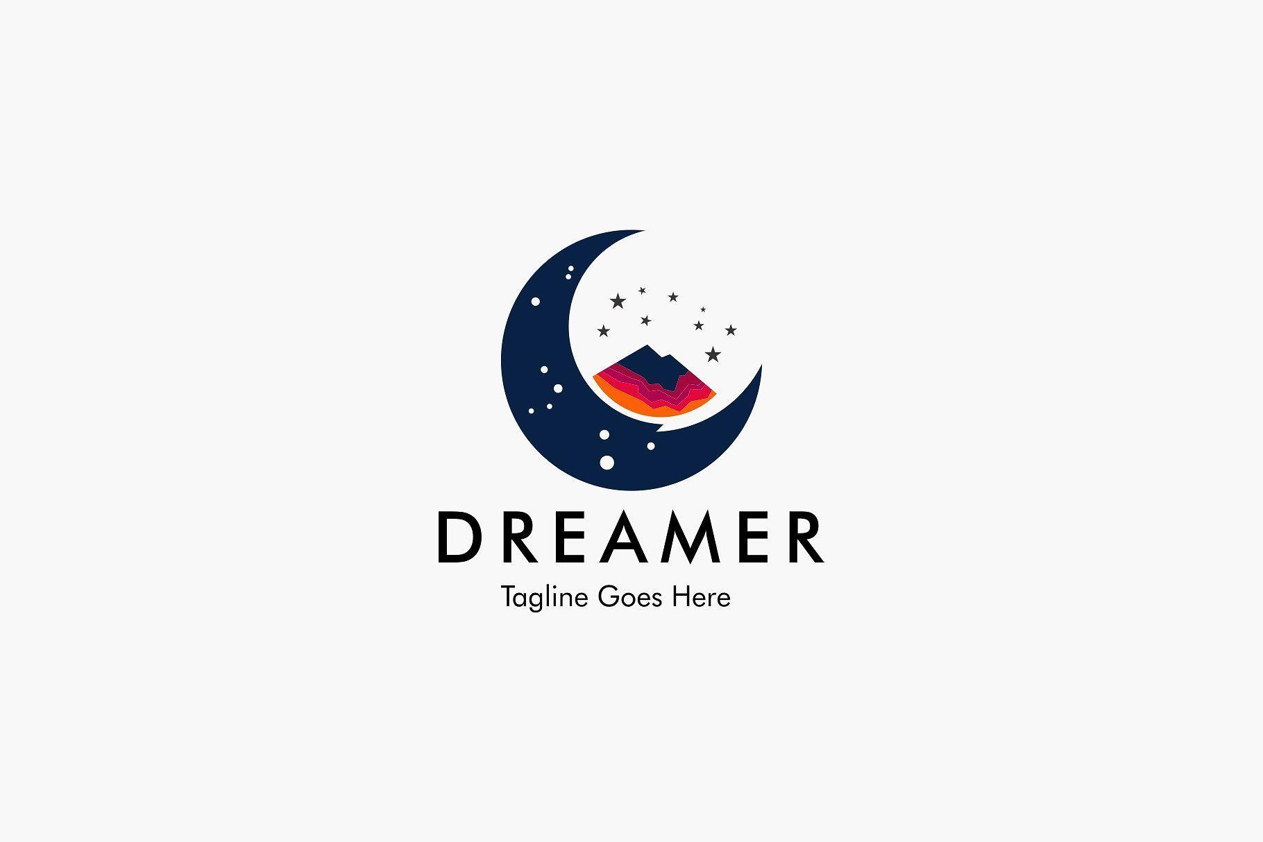Dreamer Logo Star Logo Design Logos Design
