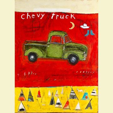 Chevy Truck by Mary Scrimgeour