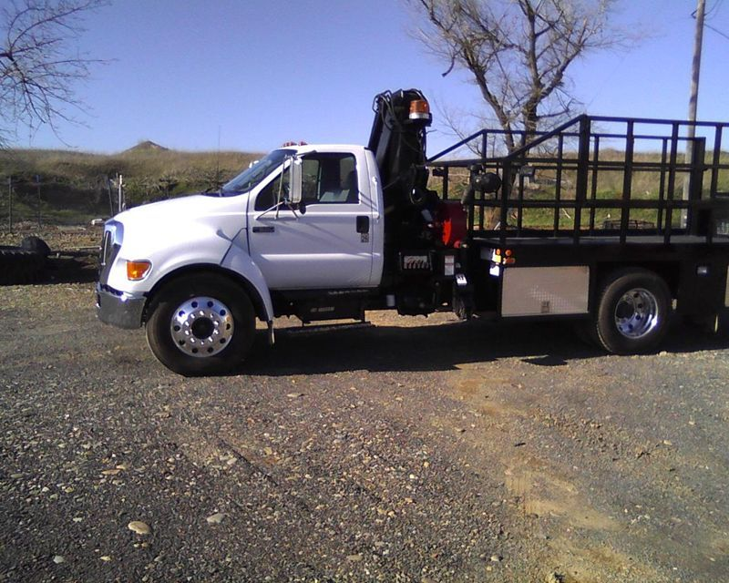 2005 ford f650 service truck from armonds giant tire