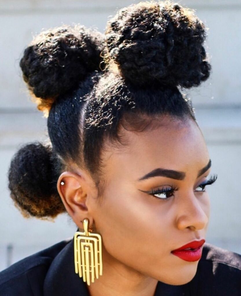 15 DIY Easy Natural Hairstyles Perfect for Newbies | Page 4 of 15 | Black Naps#black #diy #easy #hairstyles #naps #natural #newbies #page #perfect