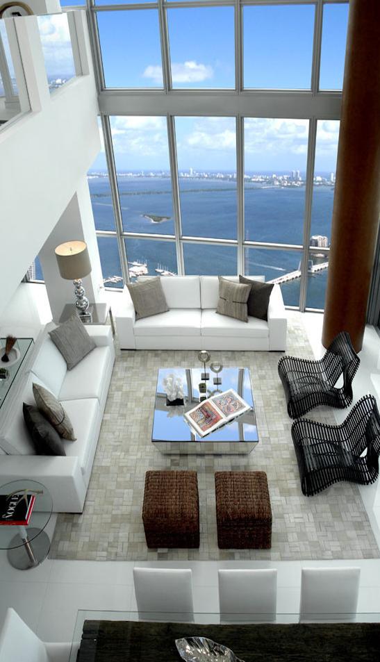 modern coastal loft living | cribez | Pinterest | Meerblicke ...