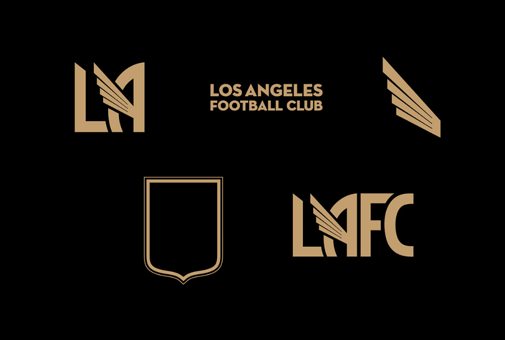 Beautiful Branding For Los Angeles Football Club Lafc Los Angeles Football Club Football Club Soccer Quotes