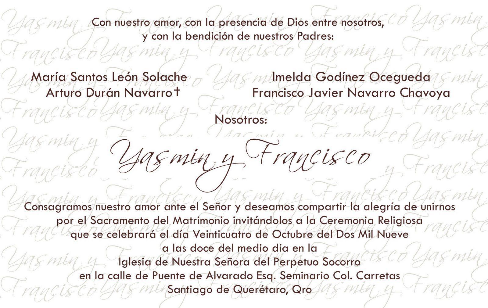 Invitacion De Casamiento Frases Para Mandar Por Mensaje 7 Hd
