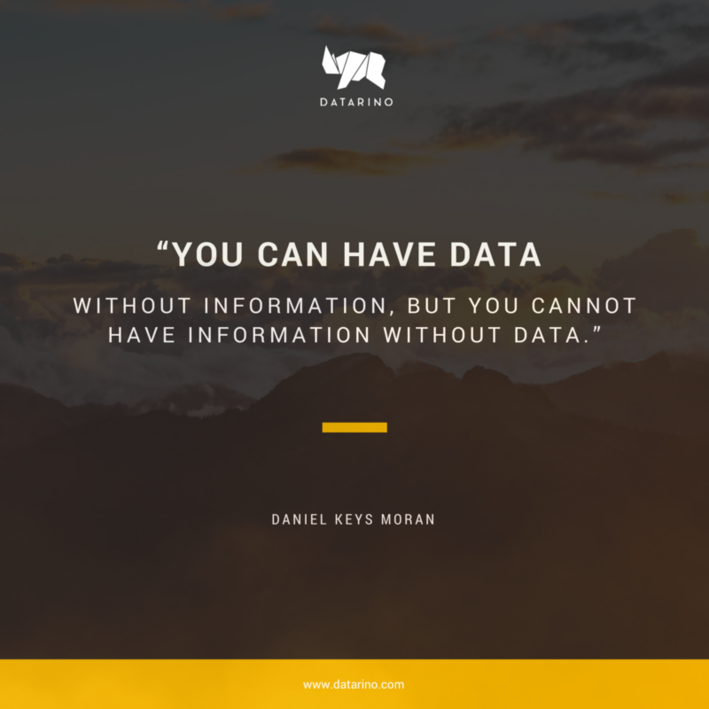 Data Quotes Magnificent Big Data Quote Business Quotes Pinterest Business Quotes