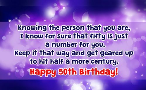50th Birthday Wishes Cards Images Messages