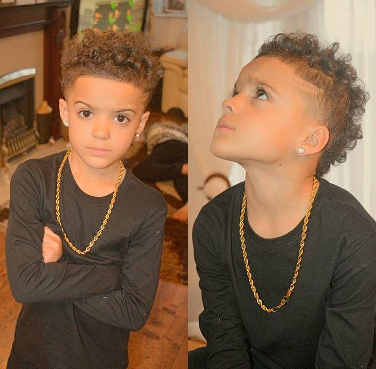 Pin By Adriana On Future Baby Boy Hairstyles Boys With Curly Hair Mixed Kids Hairstyles