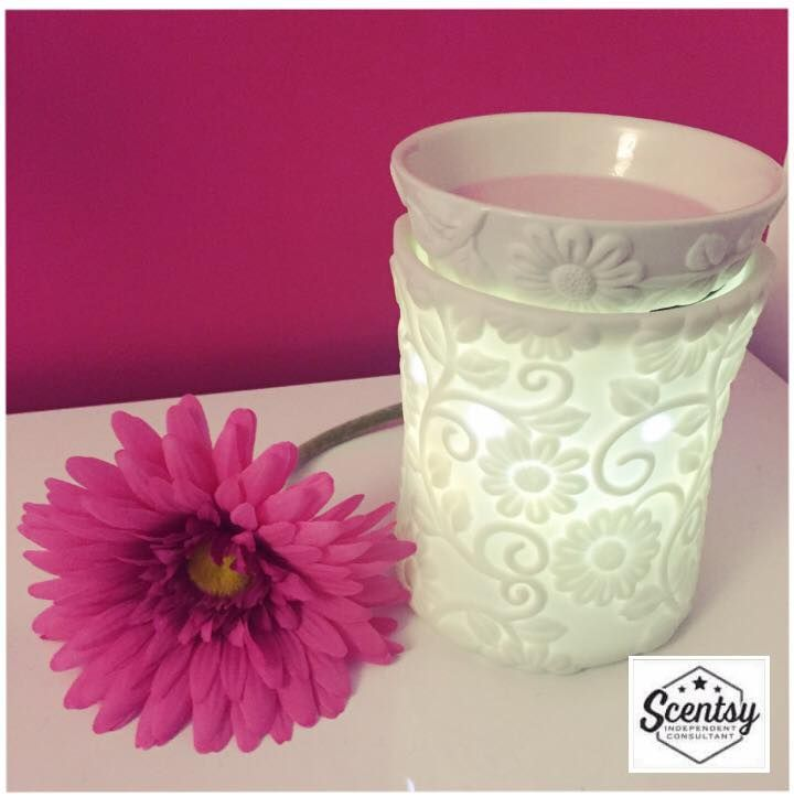 Flower Vine Scentsy Warmer So Simple And Elegant For More