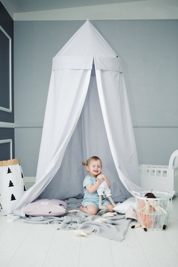 Items similar to Play Canopy / Hanging Play Tent / bed canopy / baldachin / playtent / tent canopy / playhouse / tipi / teepee / littleNOMAD on Etsy  sc 1 st  Pinterest & hanging tent / Play Canopy/ bed canopy / baldachin / playtent ...