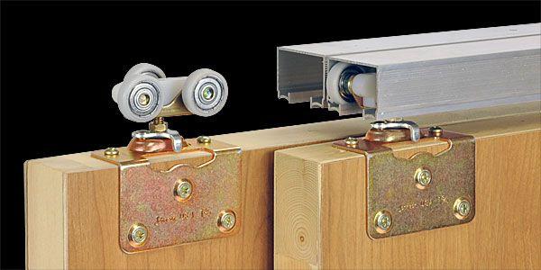 Johnson Hardware 100sm Side Mounted Sliding Bypass Door Hardware Pocket Door Hardware Sliding Door Hardware Door Hardware