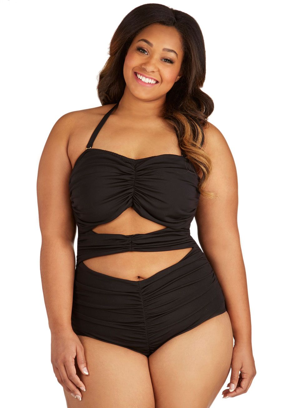 Feelin' Fierce One Piece in Plus Size | Mod Retro Vintage ...