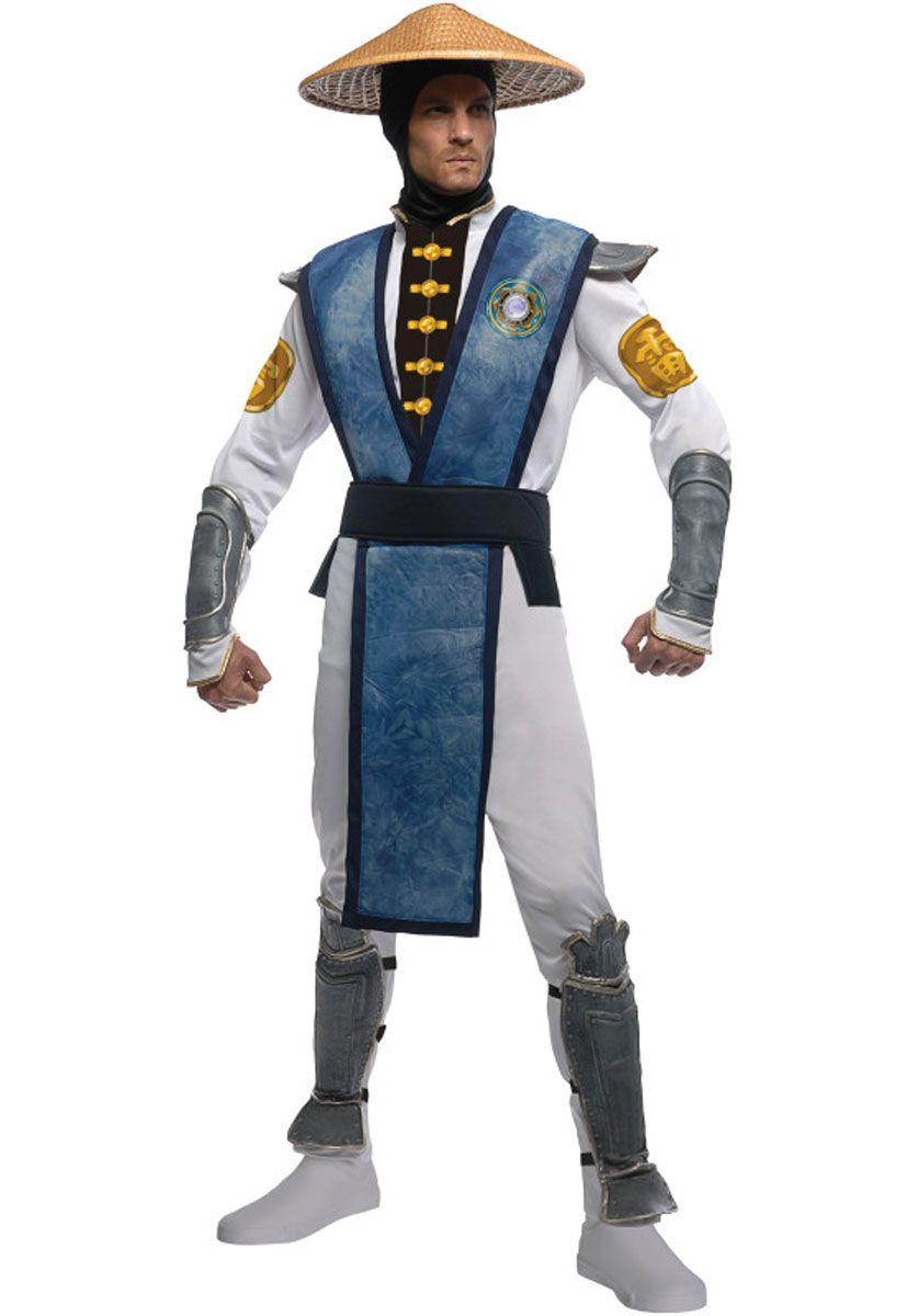 Raiden Fancy Dress, Mortal Kombat Outfit | Escapade® UK | home ...