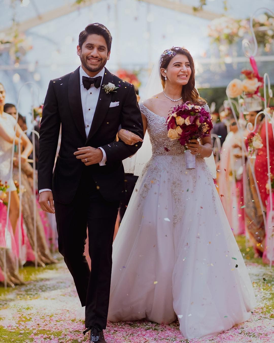 Best couple Christian wedding gowns, Marriage dress