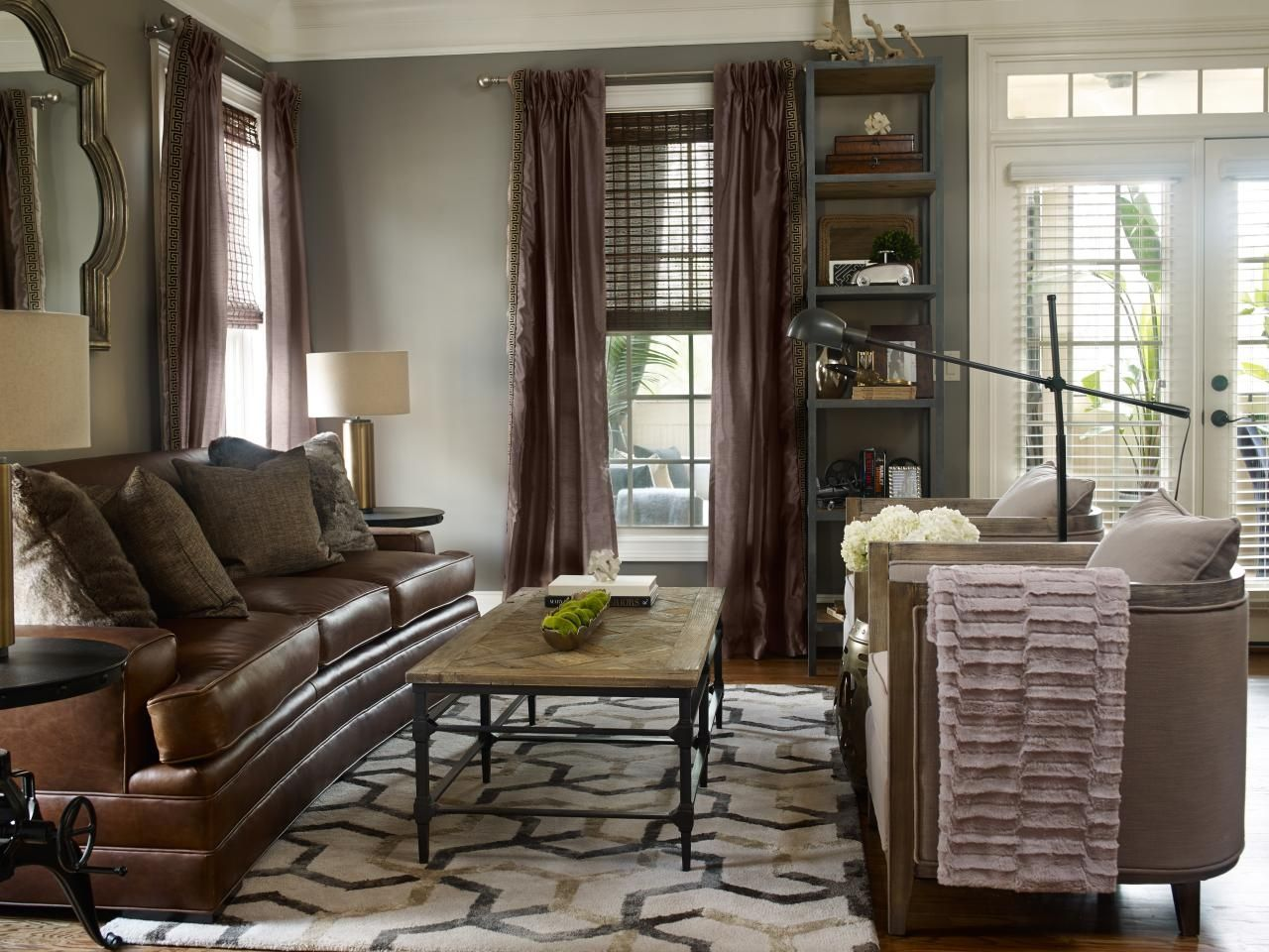 Curtains That Match Brown Furniture Furniture Designs