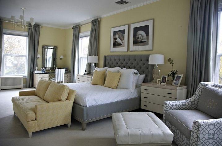 id es d co pour une chambre jaune et grise chambre jaune - Chambre Jaune Et Gris