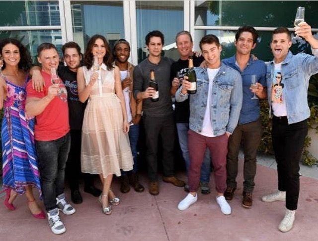 Teen Wolf cast - Comicon 2017