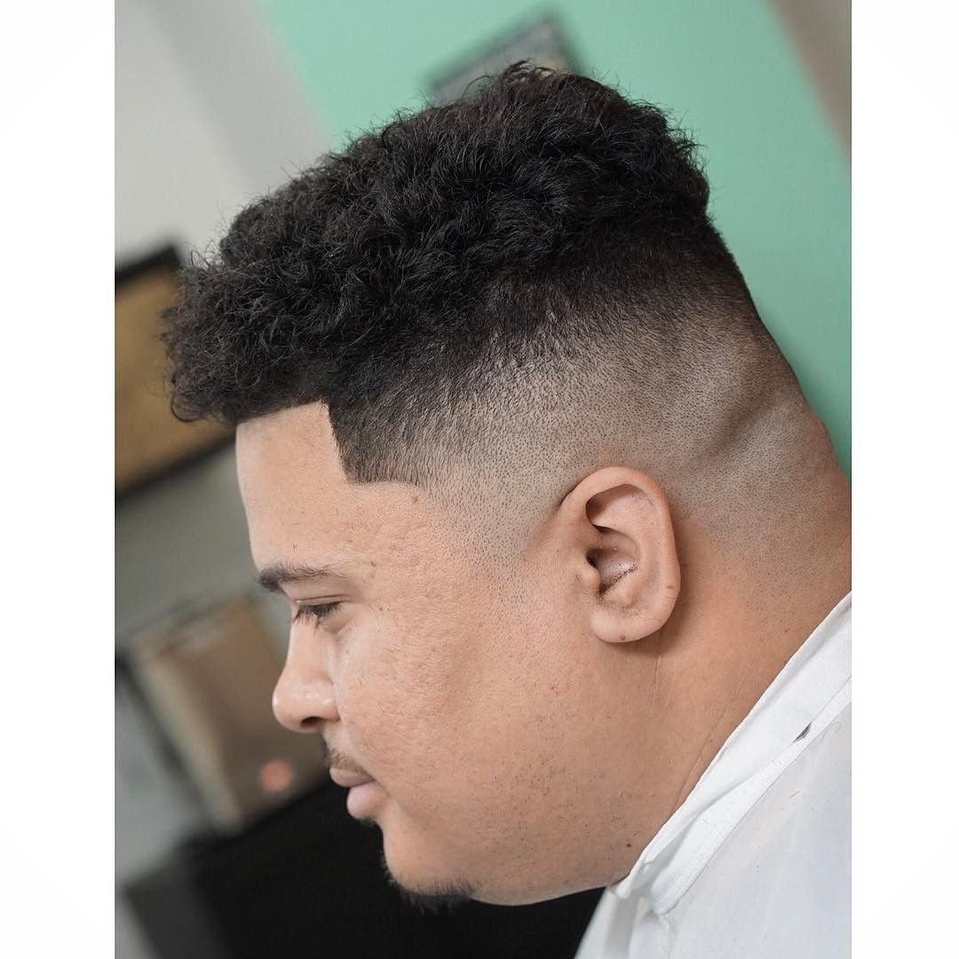 Mens Hairstyles For Fat Guys Fade Haircut
