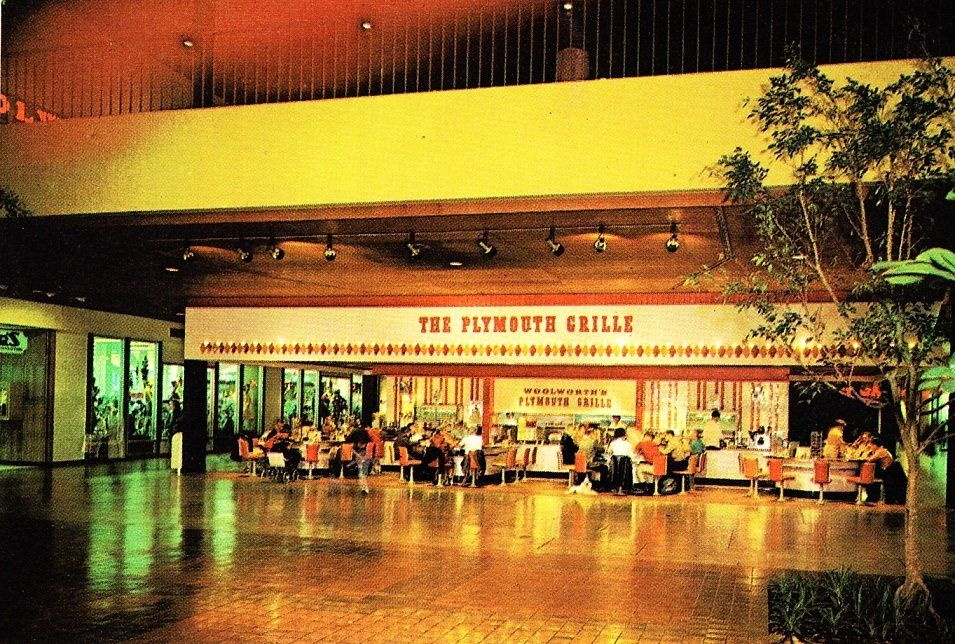 Woolworth Plymouth Grille Meeting Mall Philadelphia 1966