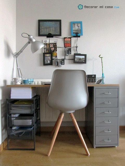 Cómo hacer un escritorio small& low cost Work IN space Home Office, Desk y Corner desk -> Decorar Un Escritorio Pequeño